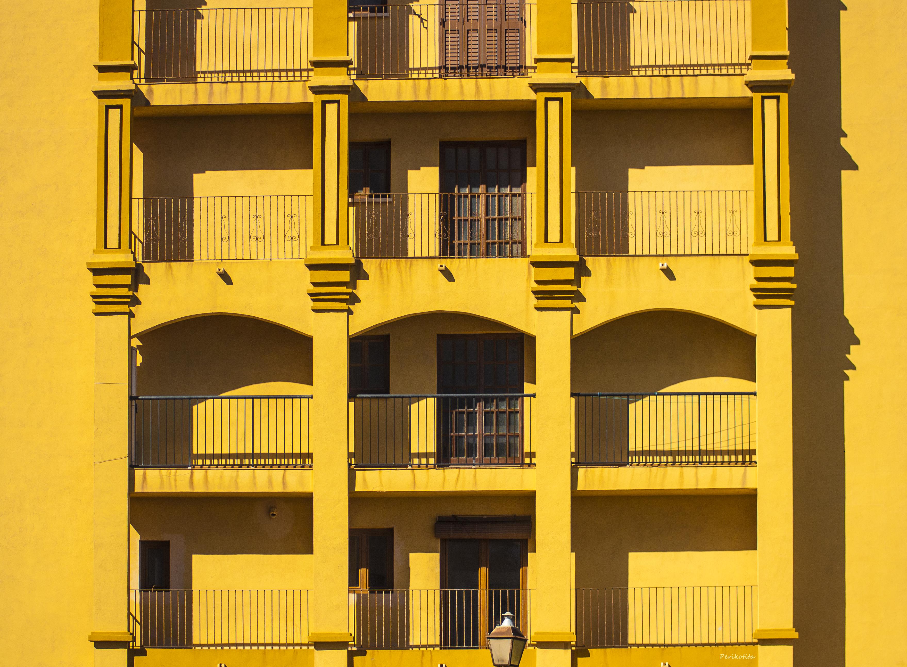 Panal amarillo arco